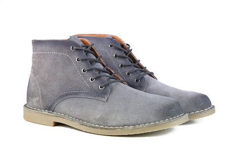 The Grover   Burnished Grey Suede