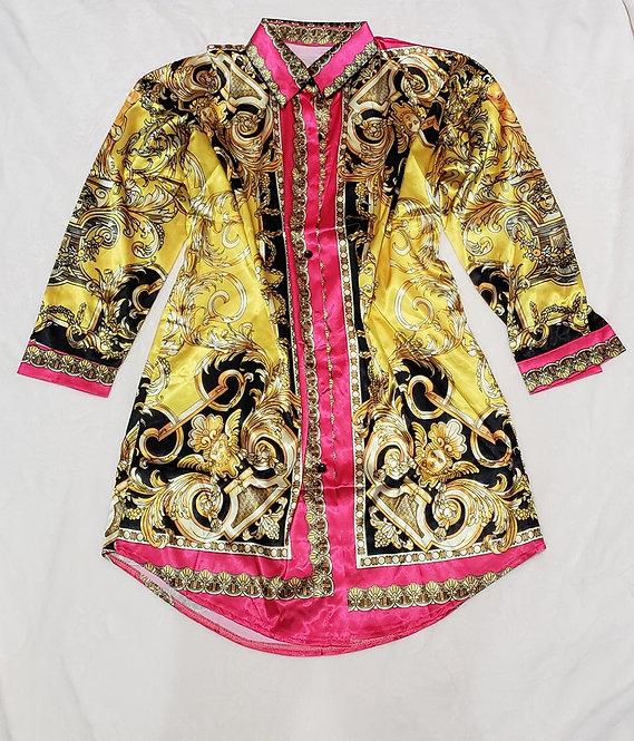 Fashion Shirt Dress