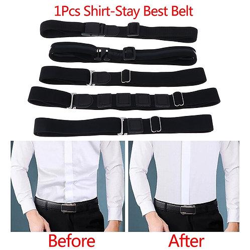 Adjustable Belt for Easy Shirt Stay Non-Slip Wrinkle-Proof Shirt