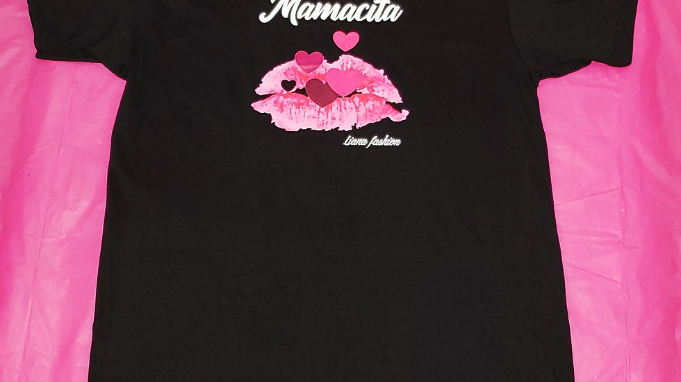 Liana Fashion.Graphic Tee/Mamacita