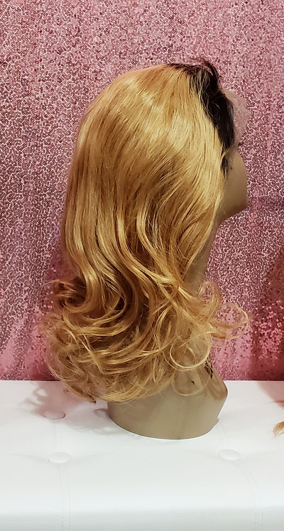 """T/1b Body Wave 18"""" Full Lace Wig"""