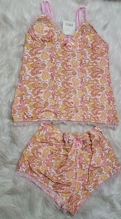 Two piece shorts set/Liana sleeping set