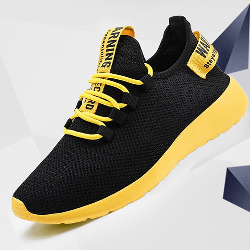 Men Vulcanize Shoes Sneakers Breathable Shoes No-Slip Male Lace Up Lightweight