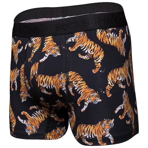 Men's Wild Tiger Boxer Brief
