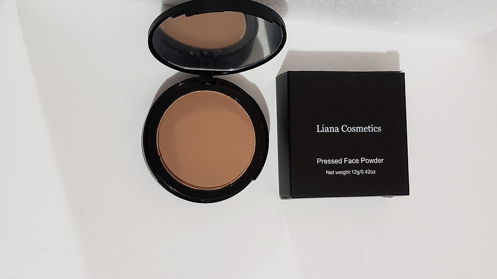 Matte Powder Foundation with Mirror & Sponge