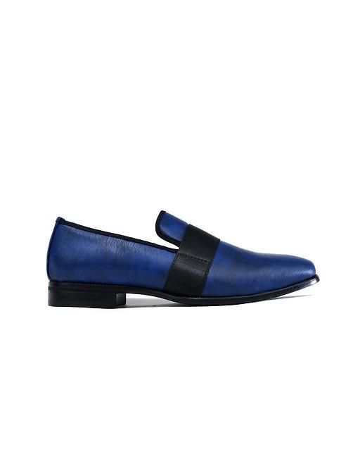 Men's Formal Slip on Shoes Navy