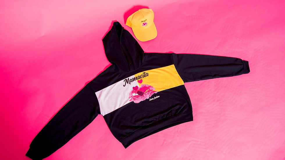 Liana Fashion.Graphic Sweater/Mamacita