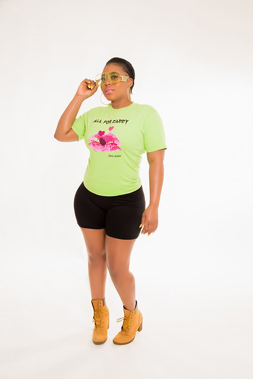 Liana Fashion.Graphic Tee/All for zaddy