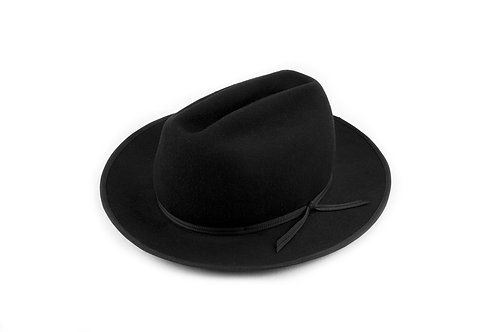Black Western Dress Hat