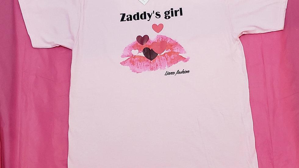 Liana Fashion.Graphic Tee/Zaddy's girl
