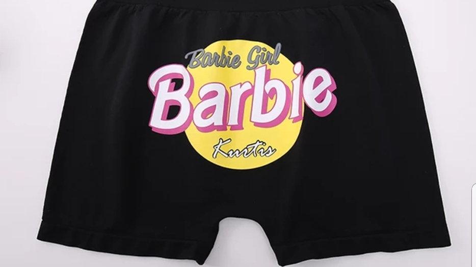 Booty short/ Barbie girl Black