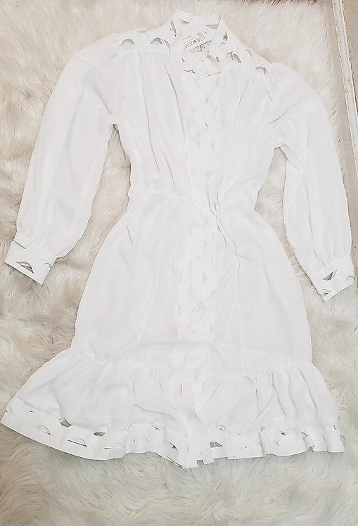 White Fashion Dress
