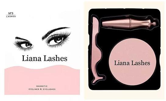 Magnetic lashes /Reusable eyelashes/No glue/3 pieces set