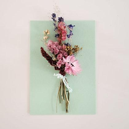 Bloemenkaart 'Multicolor'