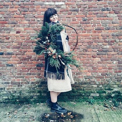 Eco Christmas Wreath