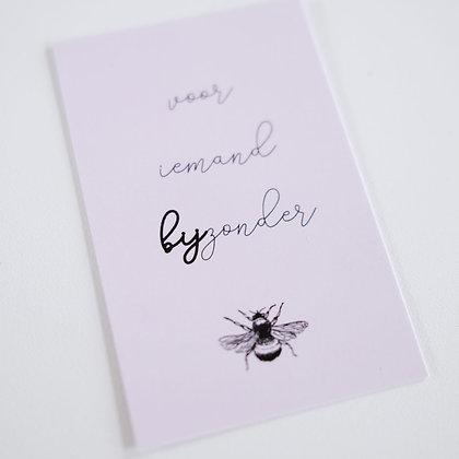 Boeketkaartje 'Voor iemand bijzonder'