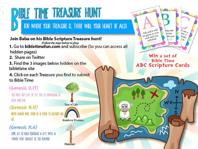 Bible Time Treasure Hunt