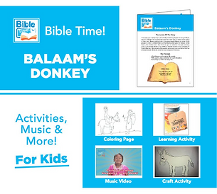 Bible Time Digital Family Fun Pack - Segment 4