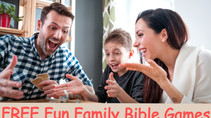 Family Game Night Favorites - Five Fun and Easy Kids Christian Bible Games | Bible Time Fun
