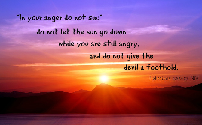 Daily Bible Verse About Anger - Bible Time - Bible Verses