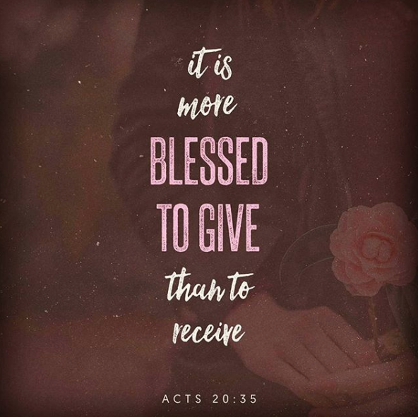 Daily Bible Verse About Giving - Bible Time - Bible Verses