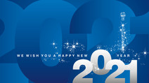 Wishing You a Happy New Year  - Do Not Worry Bible Verse - Cast all Your Cares on Him