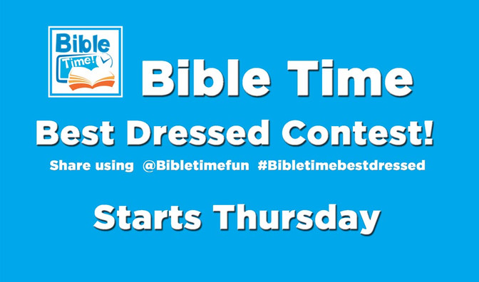 Bible Time Best Dressed Easter Contest