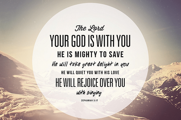 Daily Bible Verse About God Is With Us   Bible Time