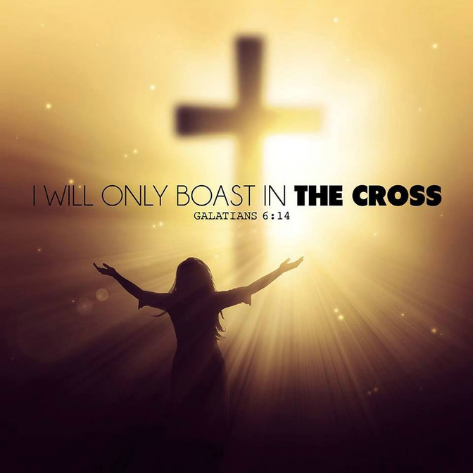Daily Bible Verse About The Glory Of The Cross - Bible Time - Bible Verses
