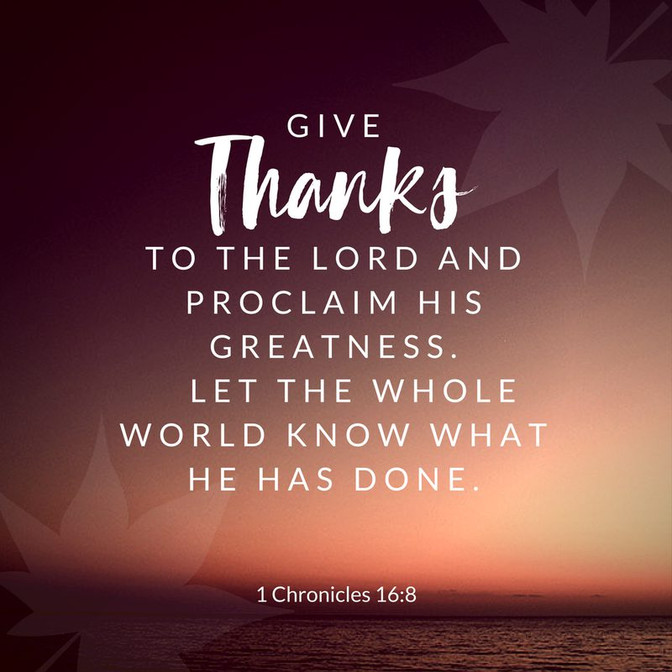 Daily Bible Verse On Giving Thanks - Bible Time - Bible Verses