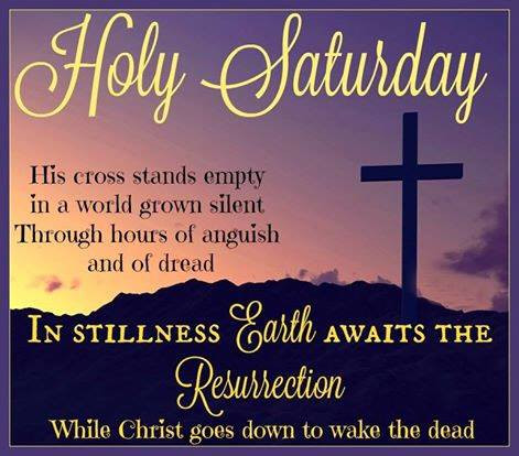 Daily Bible Verse About Easter Saturday - Bible Time - Bible Verses