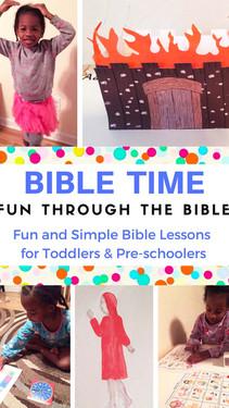 Sodom & Gomorrah Kid's Bible Story - Fun Through the Bible - Crafts, Bible Songs & Activities