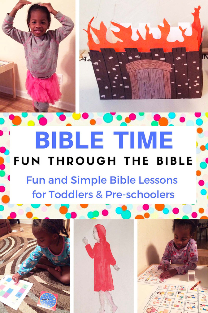 Sodom & Gomorrah Kid's Bible Story - Fun Through the Bible - Crafts, Bible Songs & Activities
