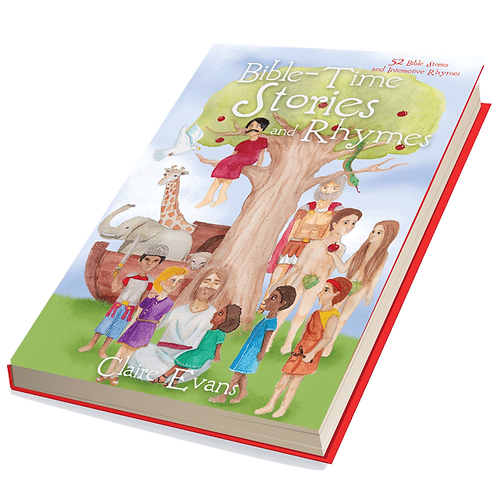 Bible Time Stories and Rhymes Storybook