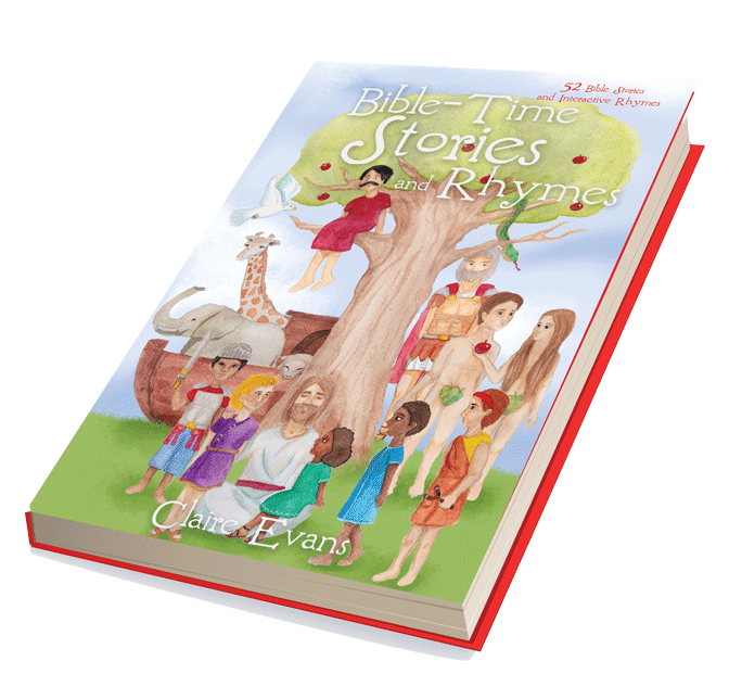 Kids Bible Story Book - Bible-Time Stories and Rhymes!