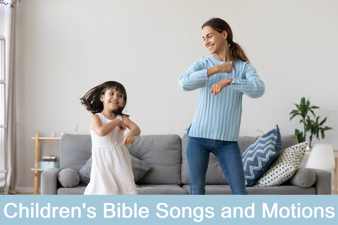 Part 1: Making Bible Study Fun: The Joy of Music | Seven Fun and Easy Kids Praise and Worship Songs