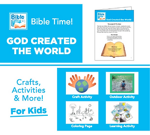 Bible Time Digital Family Fun Pack - Segment 1