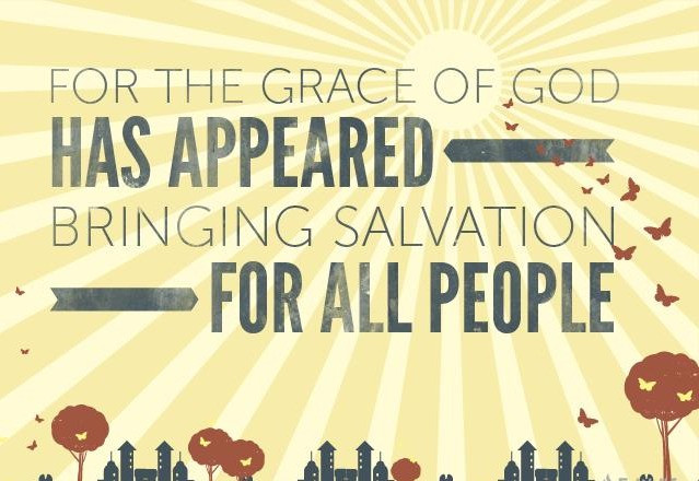 Daily Bible Verse On The Grace Of God - Bible Time - Bible Verses