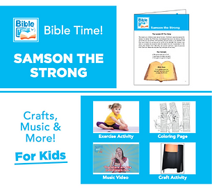 Bible Time Digital Family Fun Pack - Segment 5
