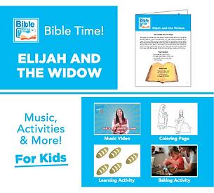 Bible Time Digital Family Fun Pack - Segment 6