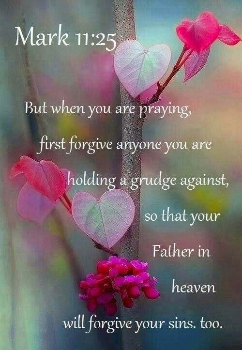 Daily Bible Verse About Forgiving Others - Bible Time - Bible Verses