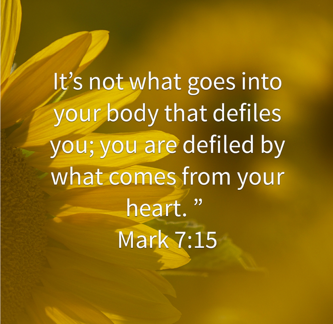 Daily Bible Verse About A Pure Heart - Bible Time - Bible Verses
