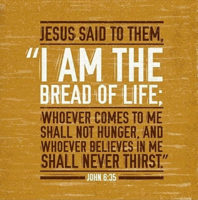 Daily Bible Verse About The Bread of Life | Bible Time