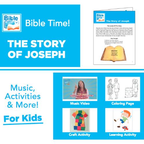 Bible Time Digital Family Fun Pack - Segment 3