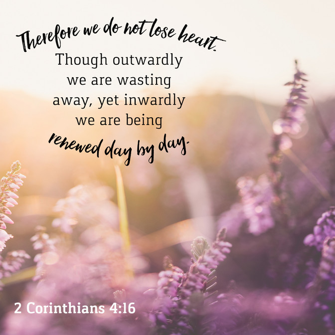 Daily Bible Verse About Being Renewed By The Spirit - Bible Time - Bible Verses