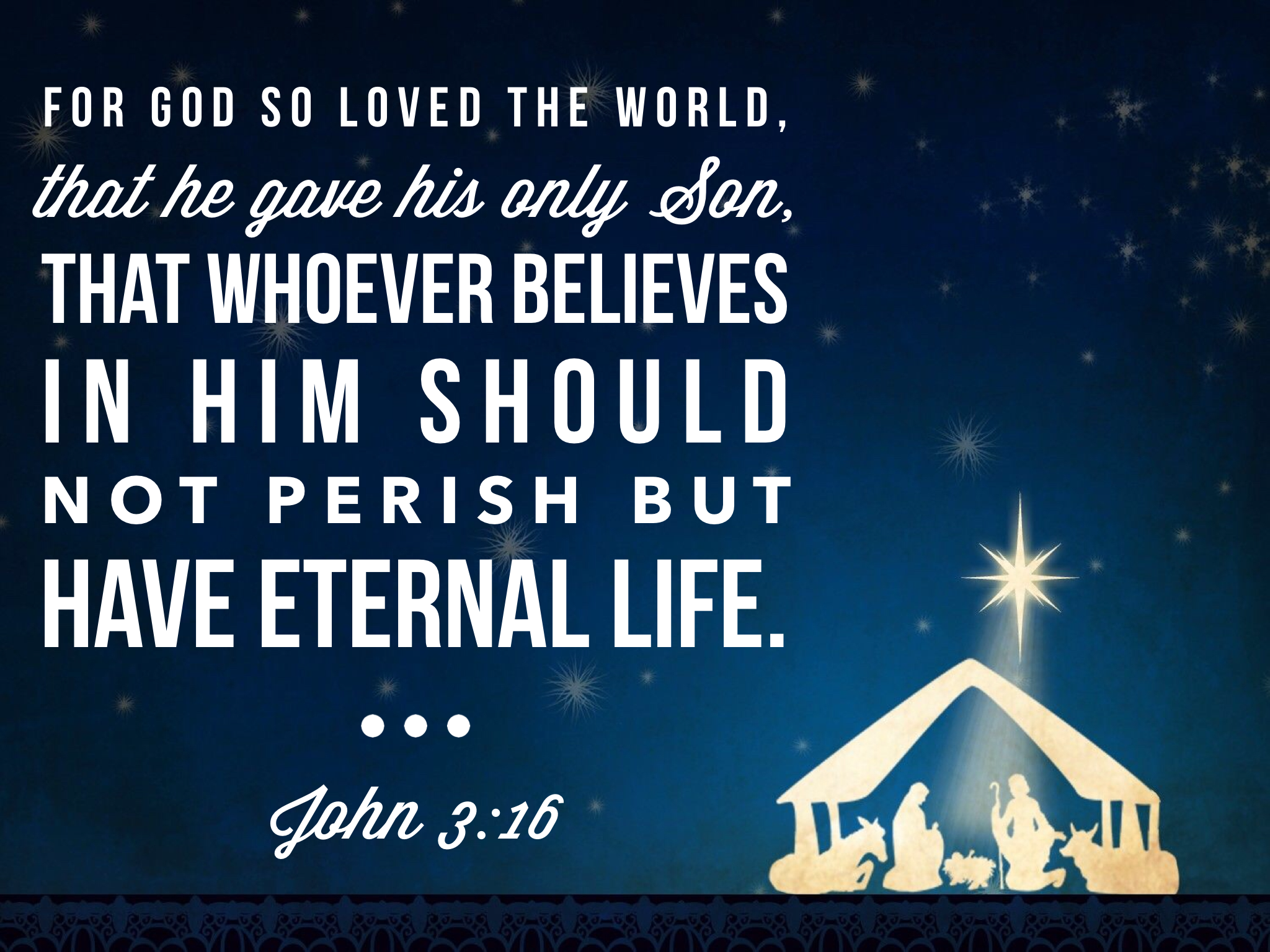 Daily Bible Verse About Jesus and Christmas - Bible Time   Childrens ...
