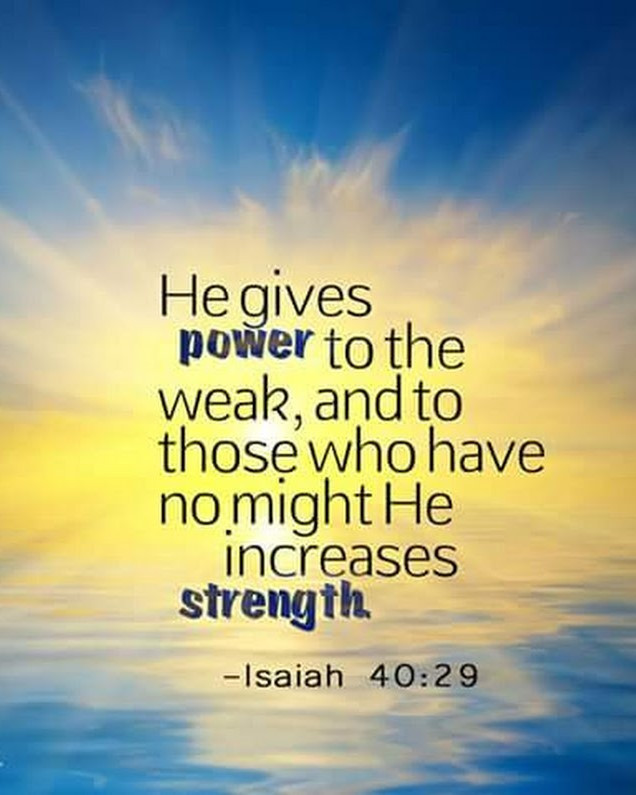 Daily Bible Verse About Strength in God - Bible Time - Bible Verses