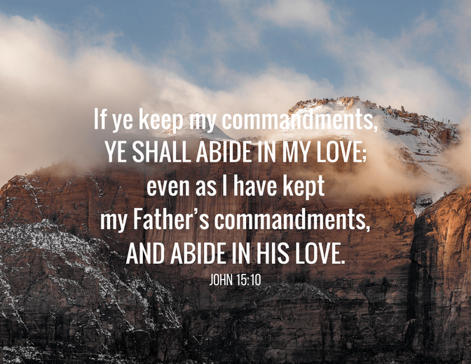 Daily Bible Verse About Love And Faith - Bible Time - Bible Verses