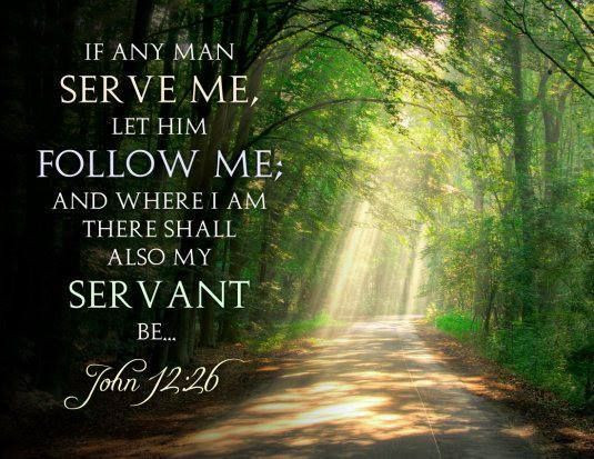 Daily Bible Verse About Serving Jesus - Bible Time - Bible Verses