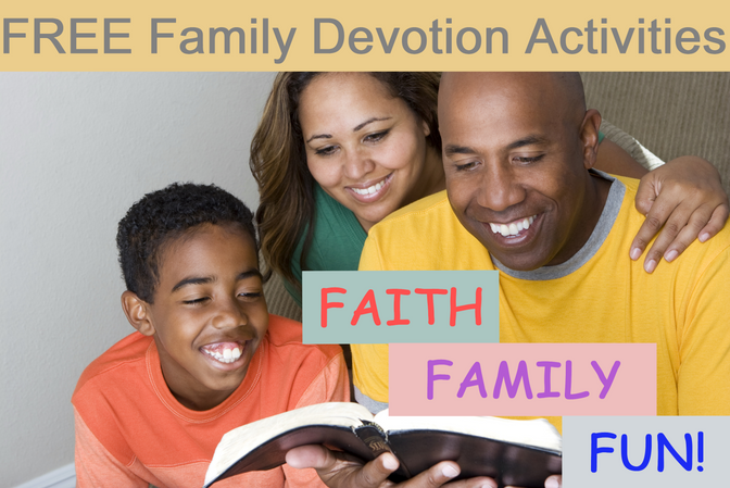 Part 4: Making Bible Study Fun:  It's a Family Affair | How to Make Family Devotion Fun and Engaging